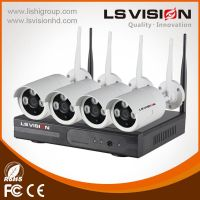LS VISION long transmission distance wifi nvr kit 2.4G wireless ip camera