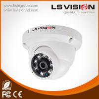 LS Vision H.265 Solution 4 MP True Day and Night Outdoor IR Mini Dome Camera