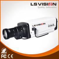 LS Vision Indoor HD 4 Megapixels H.265 True Day and Night IR IP Box Camera