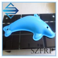 fiberglass dolphin sculpture