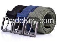 plain canvas belt