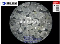 Artificial HPHT synthetic rough diamond