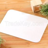 Eco-friendly prevent fungus and mites absorbant SOIL bath mat