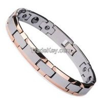 magnetic bracelet, titanium steel bracelet, medical bracelet