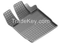 Rubber Grid Floor Mats