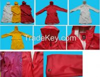 Wholesale New Style High Quality Outdoor Nylon PU ladies Long Raincoat