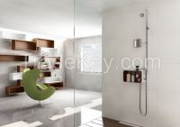 Cebien Shower system with multi-use wall mounted shelf - Model name: PUZZLE-200