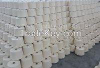 100% Carded Cotton Yarn Ne20/1s