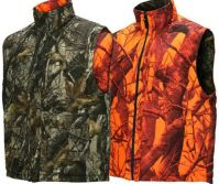 Orange Insulated Reversible Hunting Vest