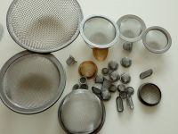 stainless steel/galvanized wire oil mesh filter end cap