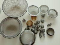 stainless steel mesh filter cap