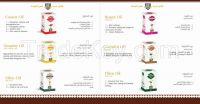 Castor oil - Sesame oil - Marrow Oil- Coconut Oil - Roses Oil - Garlic Oil - Glycerin