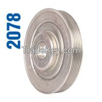 crank shaft pulley  for all kinds of european ,korean and japanese  cars