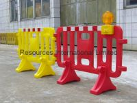 Water Filled Plastic Barrier