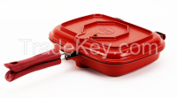 Odor-eliminating Double-sided Pan (Patented)