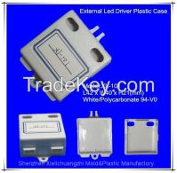 led power supply plastic case