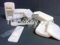 3D printed electronic encasing