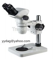 6.7x~45x biological industry binocular trinocular stereo microscope