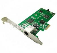 E1 card with Low Profile for 2U server, PCI-E connector 1 port T1 card, TE110 ISDN PRI card supports asterisk