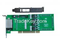 TE430E Quad Span E1/T1 Digital PCI-e Card 2U D430E