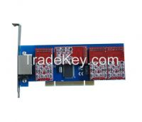 4 FXO/FXS card with Low Profile for 2U server- TDM410P supports Asterisk elastix freepbx, tdm400pe