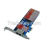 VP-TDM830P 2U 8 Port Asterisk FXO FXS PCI Analog Card