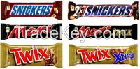 Mars assortment (Snickers, Twix, Milky Way, M&Ms)