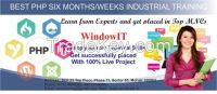 PHP Training in Chandigarh At Windowit