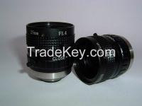 5 Megapixel 25mm F1.4 C Mount Industrial Lens
