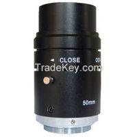 3 Megapixel 50mm F2.6 C Mount Industrial Lens