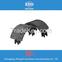 Trailer Spare Parts Brake Shoes Trailer Suspension Parts made in china