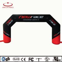 advertising inflatable arch for run /car race finished line and start line gate