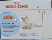 Royal Canin Utra Light Wet  Cats  Food 12x85g