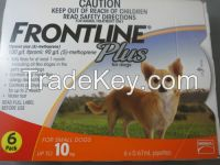 Frontline Plus for Pest and Ticks Control small dogs 10kg