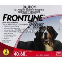 Frontline Plus for Pest and Ticks Control Extra Large  dogs 40-60kg