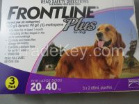Frontline Plus for Pest and Ticks Control Large  dogs 20-40kg