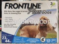 Frontline Plus for Pest and Ticks Control medium dogs 23-44lbs