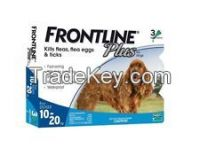 Frontline Plus for Pest and Ticks Control Medium dogs 10-20kg