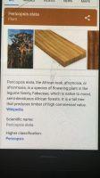 AFROMASIA - PERICOPSIS ELATA - AFRICAN TEAK WOOD