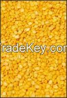 hulled Split Mung Beans for Sale