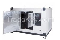 Natural gas/propane/upgraded biogas power generator, 50kW, for constant operation, water cooling, MAZ-car 4 cylinder engine