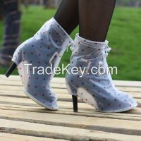 Supply high quality rain boots covers for women