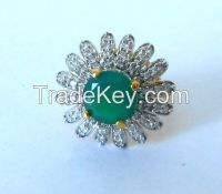 Artificial brass Ring / Fashion ring.