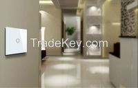 UK Standard remote touch wall light switch