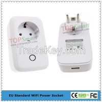 Wifi Mobile APP Remote Control Power Socket Plug