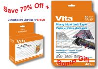 VITA BRAND INK CARTRIDGE EPSON 100% compatible