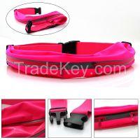 factory wholesales water resistant running belt waist bag