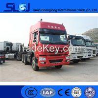 Sino trucks howo 6x4 tractor head truck