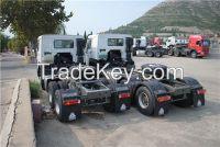 Sino trucks howo 6x4 tractor head truck with good price