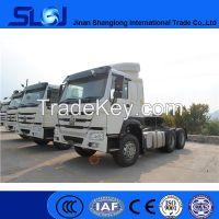 2016 new Sino trucks howo 6x4 tractor head truck with good price